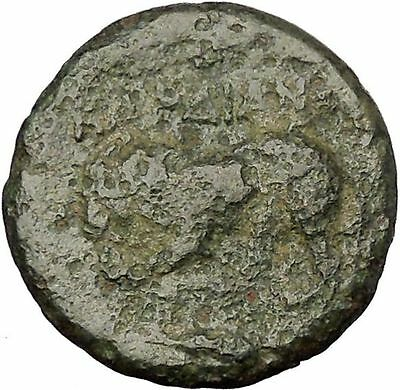 KARDIA in THRACE 350BC Persephone Lion Authentic Ancient Greek Coin RARE i52587
