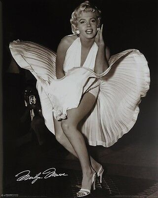 MARILYN MONROE POSTER (40x50cm) HOLLYWOOD NEW LICENSED ART