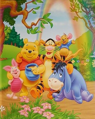 WINNIE THE POOH POSTER (40x50cm) CHARACTERS NEW LICENSED ART