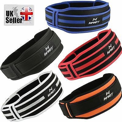 Infinity Weight lifting Belt Gym Training Back Support Body Building Lumbar Pain