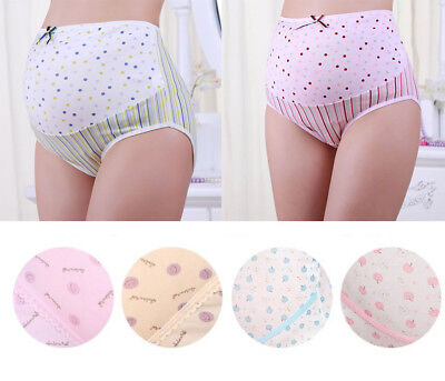 Pregnancy Maternity Snickers Comfy Underwear Panties Women Briefs Support Tummy