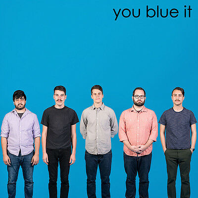 """You Blew It! 10"""" CYAN VINYL Record tribute to weezer blue album lp! limited NEW!"""