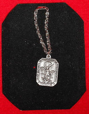 Us Army Saint Michael Patron Of Paratroopers Necklace