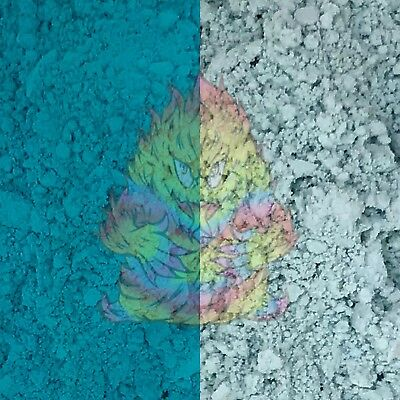 Thermal Dust! Teal - Heat Sensitive Thermochromic Color-Changing pigment powder