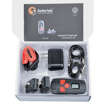 AETERTEK New 211D Pet Dog Shock Training Collar E-collar No Bark Rechargeable