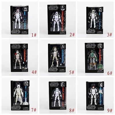 Top Star Wars Clone Trooper Stormtrooper 9 Styles 6inch Action Figure New In Box