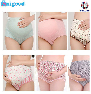 Pregnancy Maternity Quality Comfy Underwear Panties Women Briefs Support Tummy