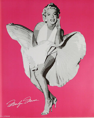 (LAMINATED) Marilyn Monroe POSTER (40x50cm) Pop Art New Licensed Art