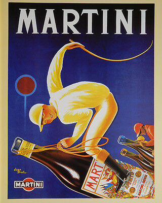 (LAMINATED) Martini Horse Racing POSTER (40x50cm) Jockey New Licensed Art