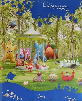 IN THE NIGHT GARDEN POSTER (40x50cm) CHILDRENS NEW LICENSED ART