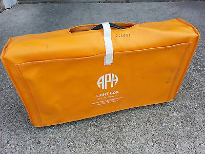 American Printing House for the Blind APH Portable Light Box with Carry Case