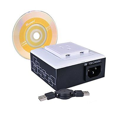 USB Net Power 8800 Pro Single Outlet AC Power Controller w/Current Meter - Softw