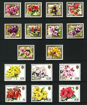 Niue 1984 Flowers set of 16 MNH