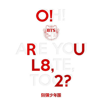 BTS-[O!RUL8,2?] 1st Mini Album CD+POSTER(On)+Photo Book+Card+Store Gift K-POP