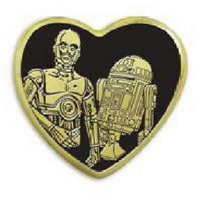 Variety Pin R2D2 & C3Po Star Wars New Mip Collectible Droids