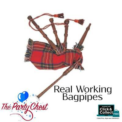 Scottish Highland Bagpipe Small Real Working Bagpipes - Amazing Value