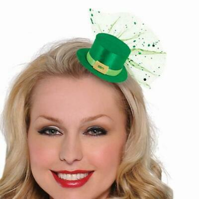 St Patricks Day Mini Leprechaun Hat Hair Clip