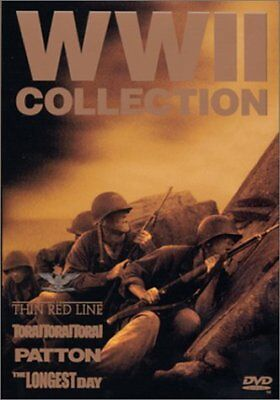 World War II Collection Thin Red Line Patton Tora Tora The Longest Day) R1 DVD 2