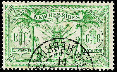 Sg18, ½d green, good used, CDS.