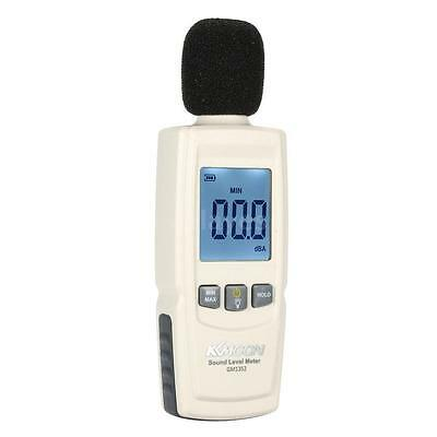 GM1352 Digital Sound Level Meter Noise Volume Decibel Monitoring Tester LA O8O9