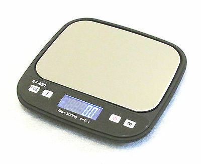 3kgx0.1g Digital Portable Scale with Back-lit LCD, Postal, Diet/Cooking, Jewelry