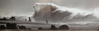 (LAMINATED) GIANT WAVE POSTER (30x90cm) SURF PHOTOGRAPHY NEW LICENSED ART