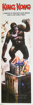 KING KONG MOVIE POSTER (30x90cm) RETRO CLASSIC NEW LICENSED ART