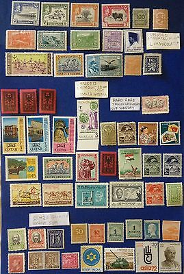 Lot Of 58 World Stamps Also Rare High Value