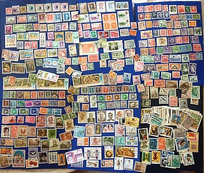 Lot More 450 World Stamps Used Also Rare From I To Z With Many India High Value