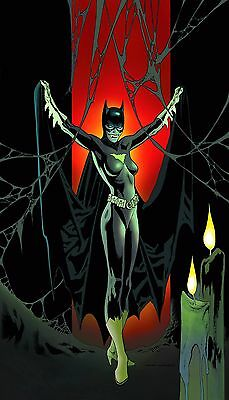 Batgirl # 35 N52 1st Print NM DC Unread Monsters of the Month Variant Cover