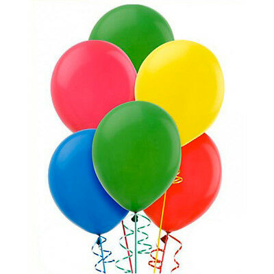 100 Pezzi Palloncini In Lattice 23 Cm - 9 Inc Feste Party Compleanni Multicolore