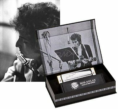 Hohner Limited Edition Bob Dylan Signature Harmonica - Key of C