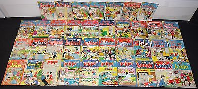 Vintage Silver Age Archie Titles 37pc Low to Mid Grade Comic Lot Jughead Reggie