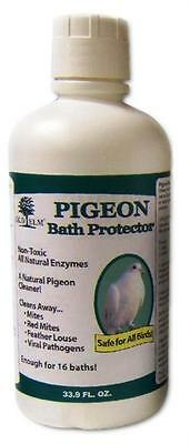 Old Elm Pigeon & Dove Bath Protector 33.9oz Enough for 16 baths All Natural