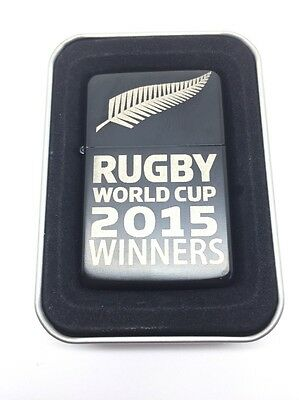 Rugby World Cup 2015 Winners Windproof lighter,unofficial All Blacks Souvenir
