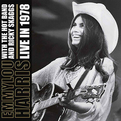 Emmylou Harris Live In 1978 Double Lp Vinyl 33Rpm New
