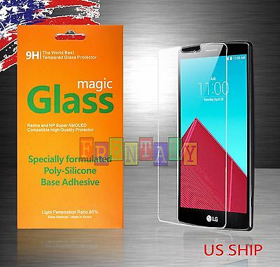 9H Premium Ultra Slim Tempered Glass Screen Protector Film Guard For LG G4 G3