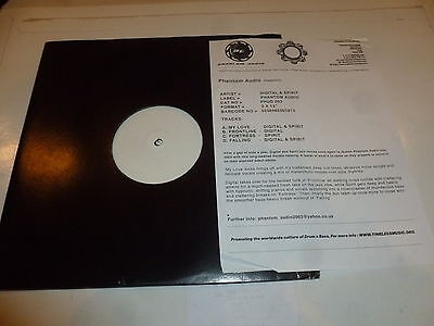 "PHANTOM AUDIO presents DIGITAL & SPIRIT EP - 2002 DJ Double 12"" Vinyl Single"