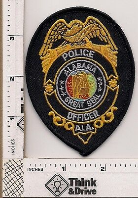 Alabama Police Officer Breast patch.