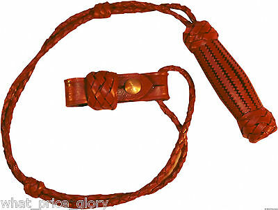 Leather US Army M1902 Officer Saber Knot