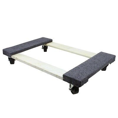 "30"" x 18"" x 5-1/2"" 1000 lb. Capacity Furniture Moving Dolly"