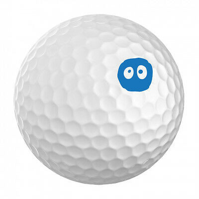 Golf Ball ID Stamp - Eyes on the Ball - ID your golf ball
