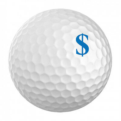 Golf Ball ID Stamp - On The Money - ID your golf ball