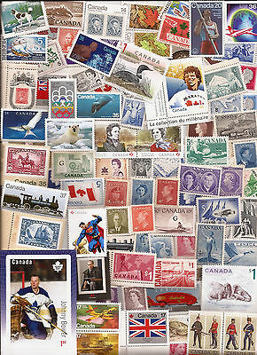 vintage MINT UNUSED FULL GUM CANADA Canadian postage stamps lot A3  MNH