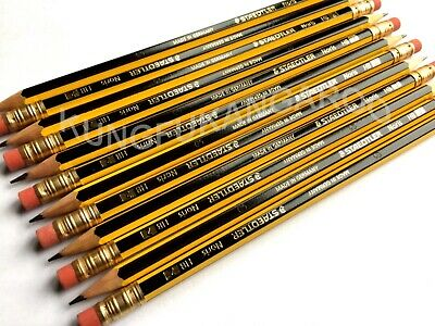 1 to 50 STAEDTLER NORIS PENCILS with ERASER RUBBER TIP HB DRAWING SCHOOL DESIGN