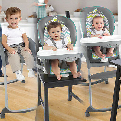 Convertible High Chair Baby Toddler Child Infant Feeding Booster Seat Restaurant