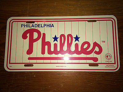 Philadelphia Phillies Vintage 1992 License Plate Veterans Stadium
