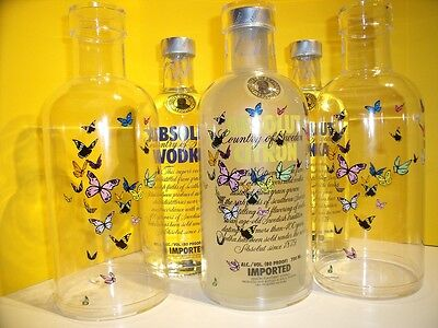 ABSOLUT VODKA Case German Summer Edition 2010 Butterfly