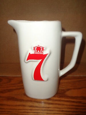 Vintage Seagram's 7 Crown - American Whiskey Liquor - Bar Pitcher