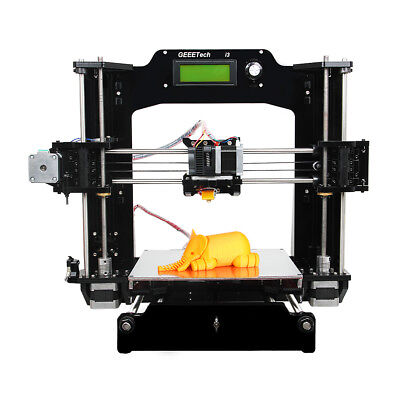 Free Tax! Geeetech 3D imprimante Acrylic Prusa I3 Pro X DIY Shipped from Germany